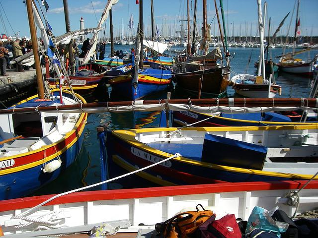 Boats, Old Rigs, Wharf, Port