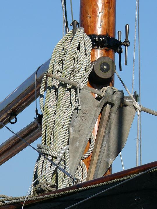 Old Rig, Sailing, Sailing Vessel, Sailboat, Wharf, Sea