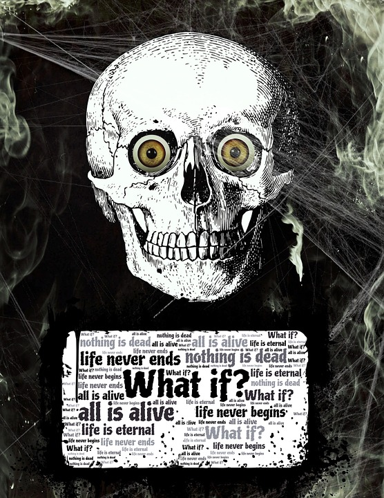 Life, Death, Skull, What If, Alive, Animism, Pantheism