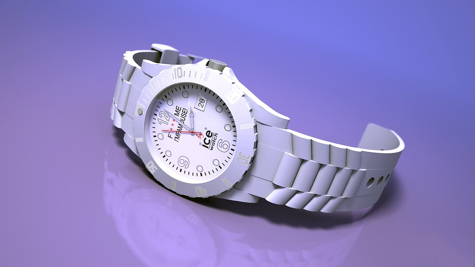 Ice, Watch, Plastic, Modeling, 3d, Time, What Makes