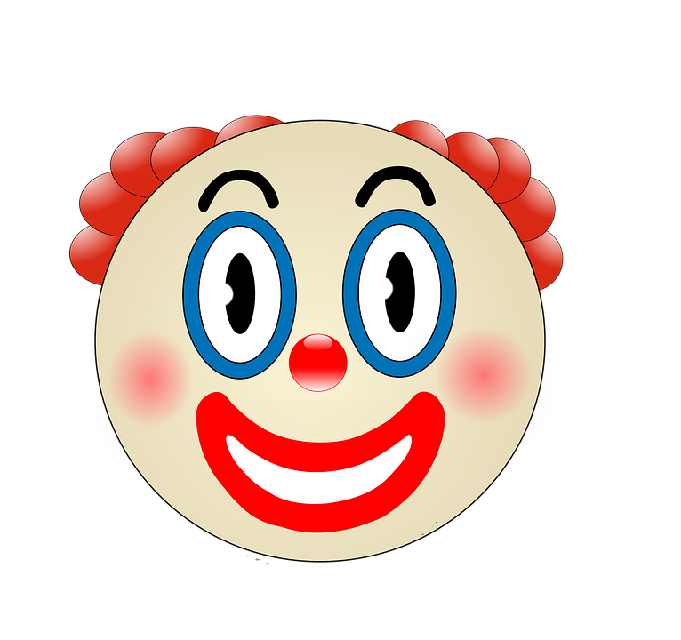 Clown, Funny, Make Up, Whatsapp