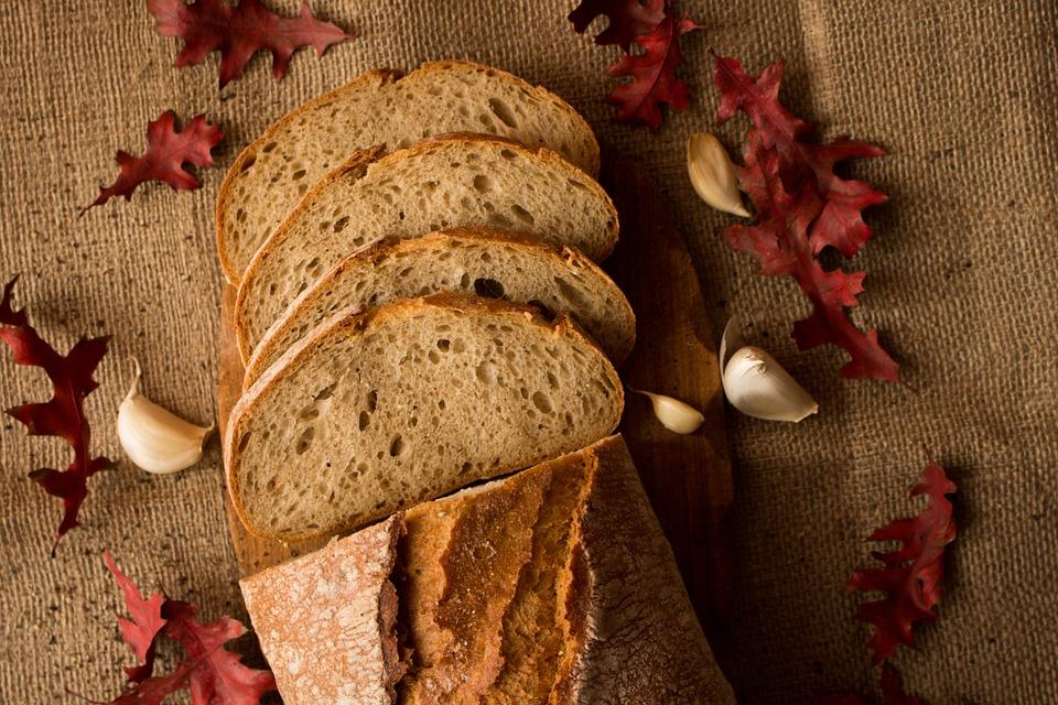 Eating, Loaf, Breakfast, Wheat, Baked, Cut, Bakery