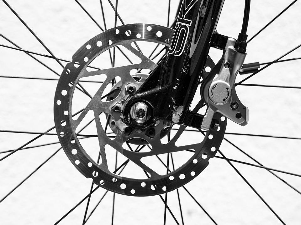 Mountain Bike Disk Brake, Bicycle, Wheel, Bike, Brake