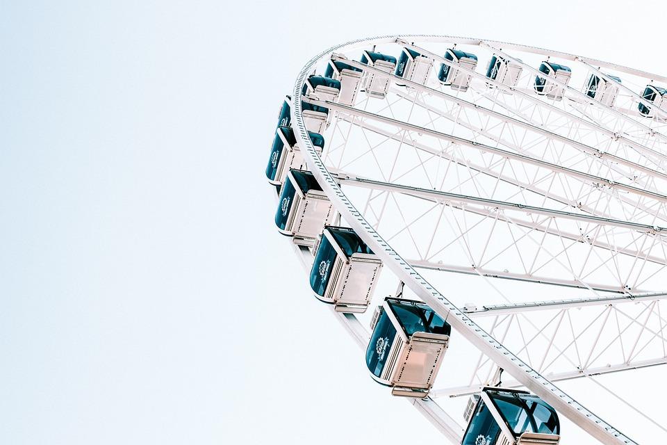 Ferris Wheel, Seattle, Washington, Downtown, Wheel