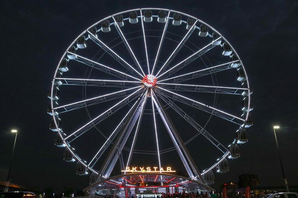 Ferris, Wheel, Fair, Attraction, Amusement