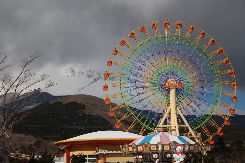 Ferris Wheel, Winter, Ferris, Wheel, Color