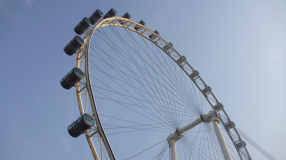 Singapore Flyer, Singapore, Flyer, Wheel