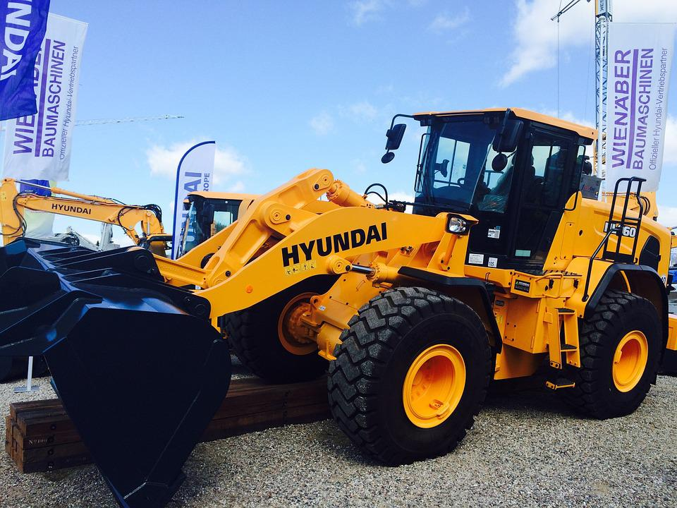 Hyundai, Construction Machine, Wheel Loader, Excavators