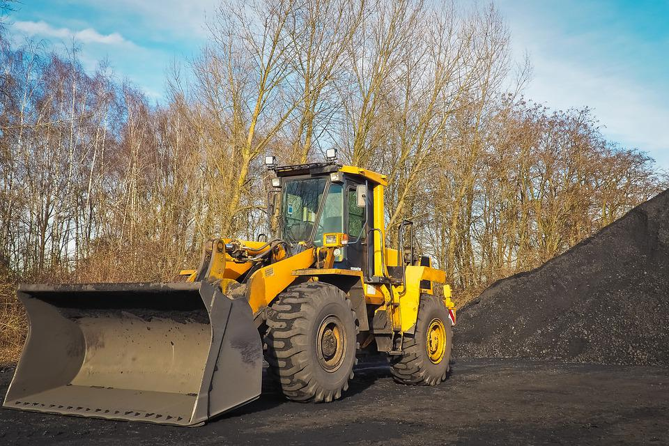 Wheel Loader, Construction Machine, Vehicle, Machine
