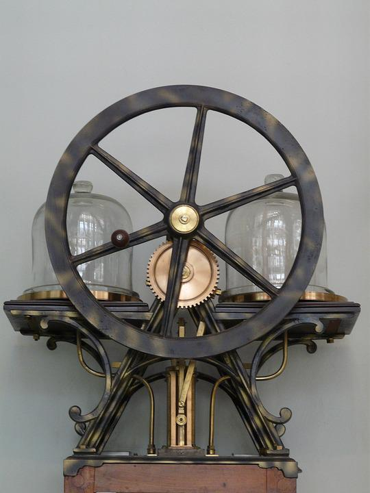 The Weight Of The, The Mechanism Of, Wheel, Metal