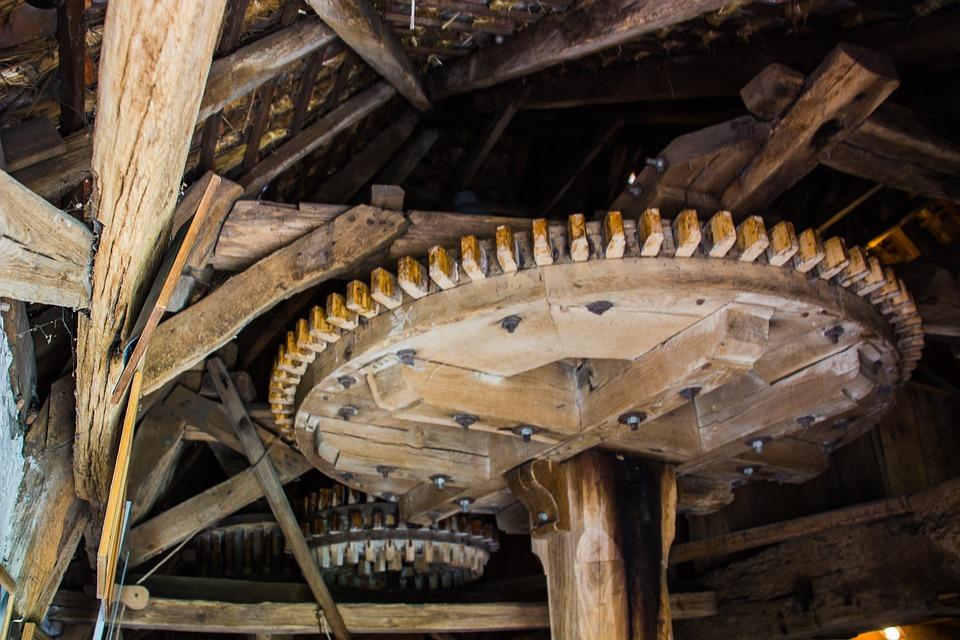 Mill-wheel, Mill, Wheel