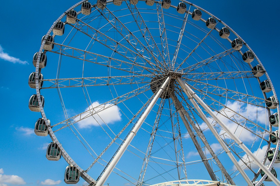 Wheel, Ferris Wheel, Carousel, Fair Fun, Roll, La Perla
