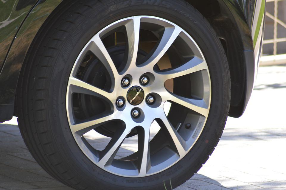 Wheel, Mag, Rubber