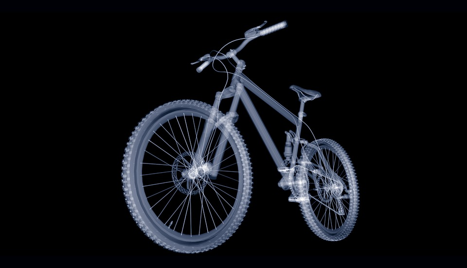 Mountain Bike, Bike, Mature, Wheel, Spokes, Technology