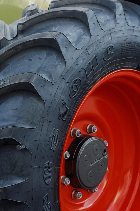 Tractor, Tire, Rubber, Machine, Wheel, Agriculture