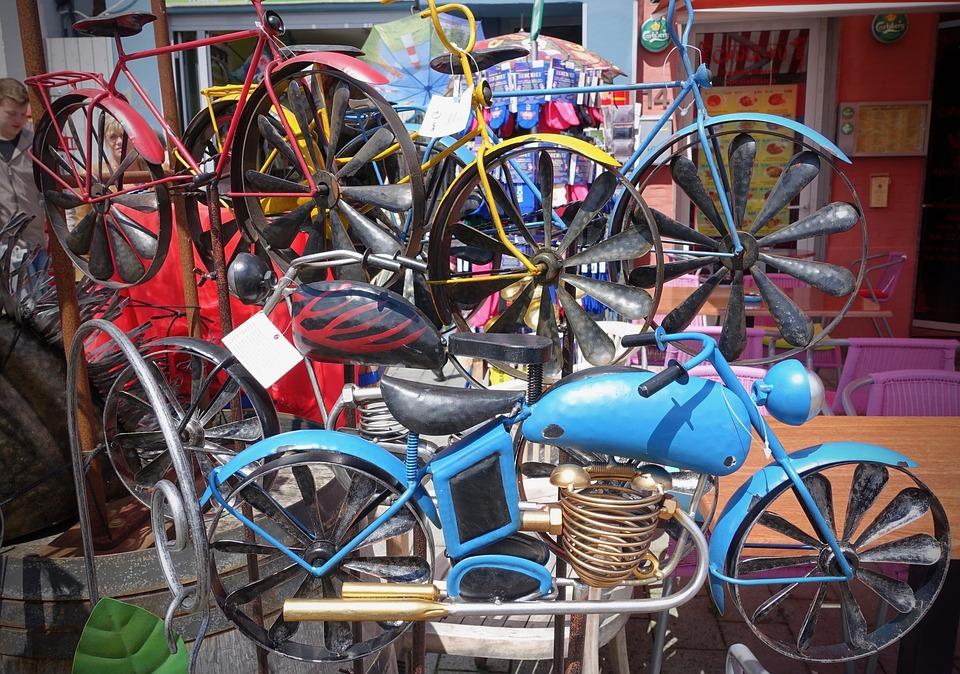 Wheels, Art, Bikes, Carnival, Vintage, Traditional