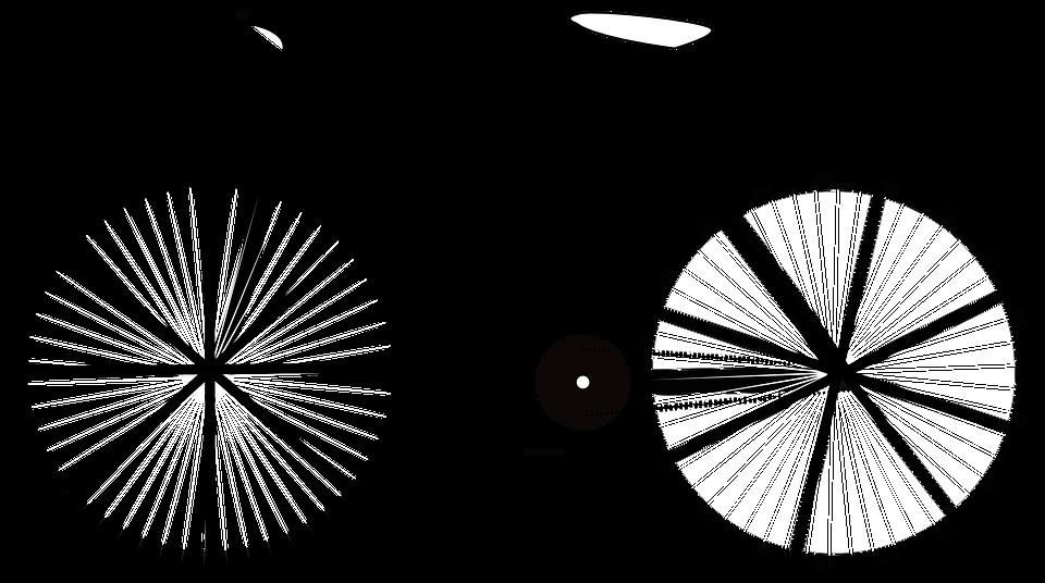 Bike, Bicycle, Side, Wheels, Saddle, Black