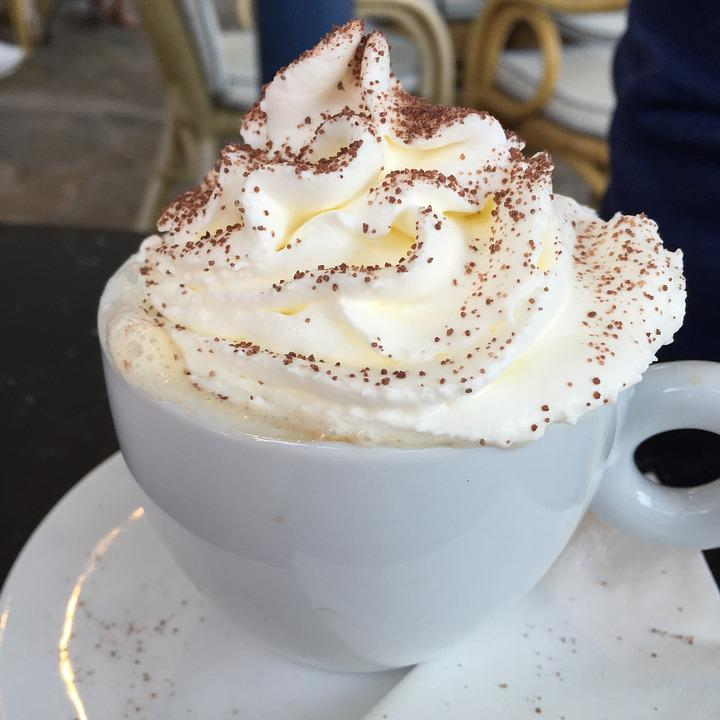 Coffee, Whipped Cream, Cream, Beverage, Cup, Whipped