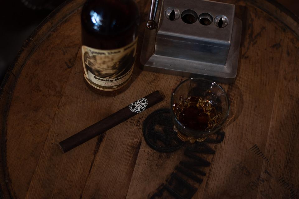 Cigar, Whiskey, Bourbon, Barrel, Tobacco, Bar