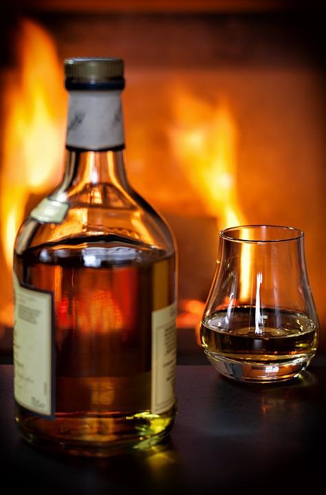 Whisky, Whiskey, Alcohol, Glass, Bottle, Whiskey Glass