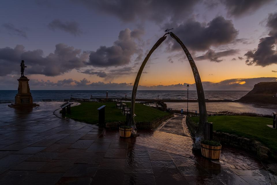 Whale Bones, Whitby, Harbour, Captain Cook