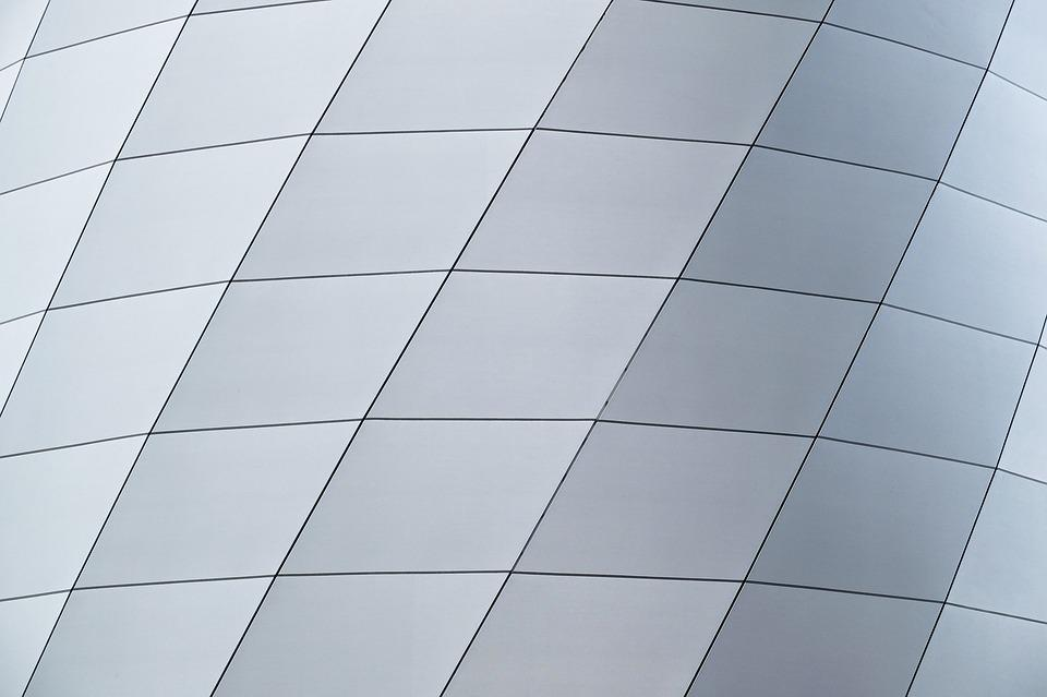 Abstract, Background, Grey, White, Architecture, Modern