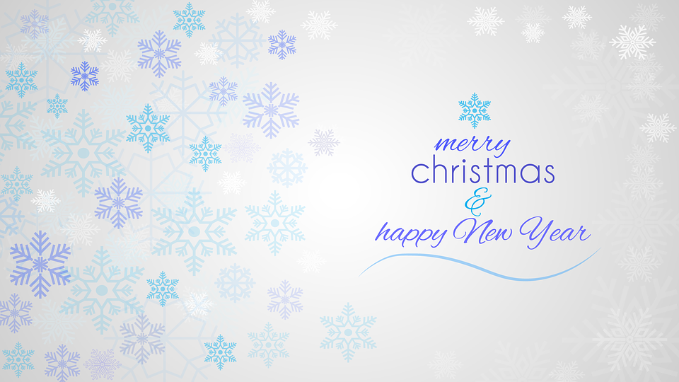 Christmas, Star, Background, Backdrop, Blue, White