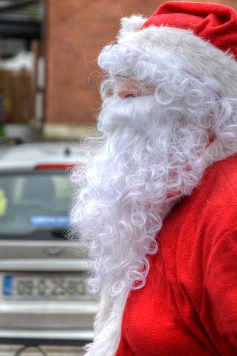 54cb127fc2709 Free photo White Beard Santa Clause Presents Red Jacket - Max Pixel