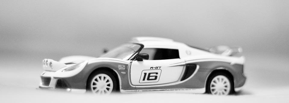Car, Toys, Black, White, Transportation