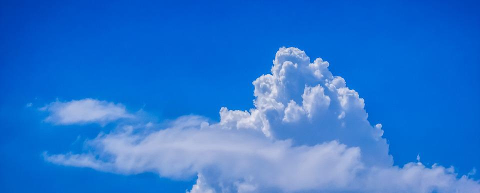 Clouds, Cumulus, Sky, Blue, White, Blue Sky Clouds