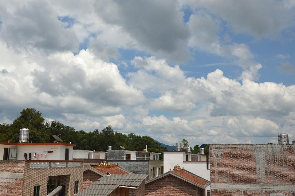 Blue Sky, White Cloud, Sky, The Scenery, Sunny Days