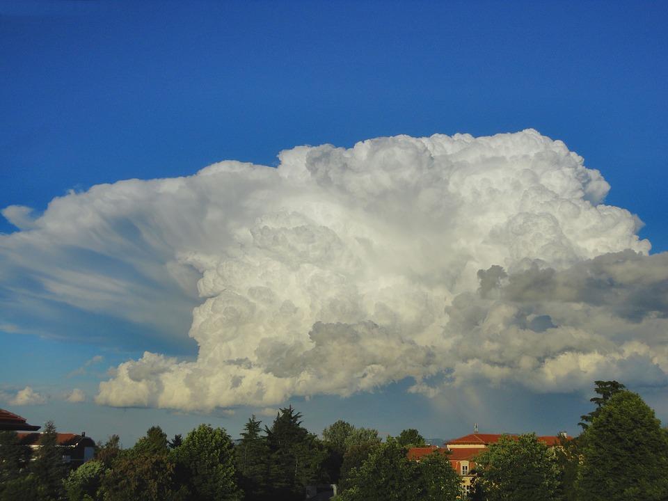 Cloud, Sky, White, Clouds, Blue, Strange