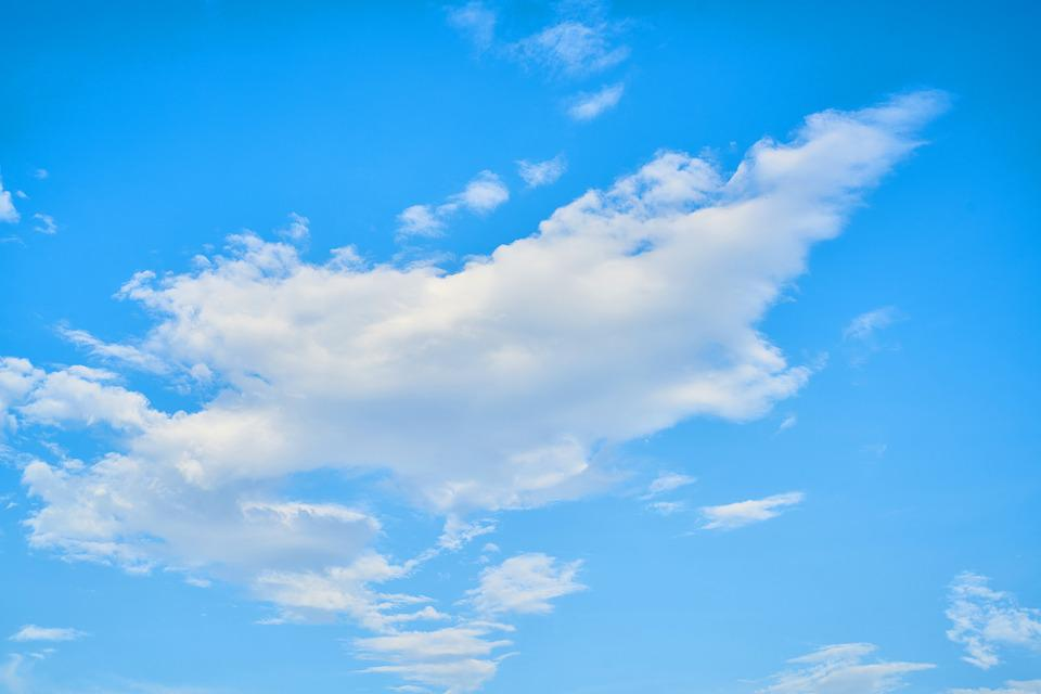 Cloud, Blue, Clouds, White, White Clouds, Landscape