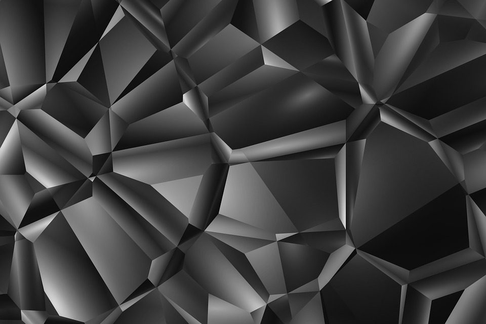 Color, Share, Many, Black, Triangles, Grey, White