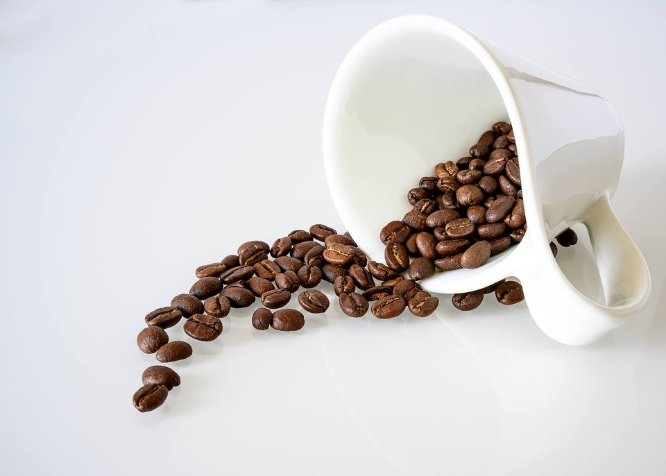 Coffee, Coffee Beans, Cup, Mug, White Cup, Caffeine