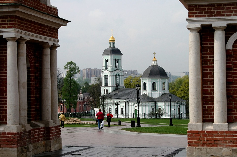 Church, Building, Cathedral, White, Dome, Bell Tower