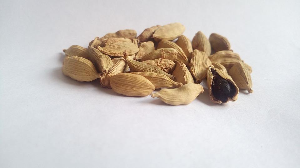 White Cardamom, Herb, Cardamom, Seed, Food, Dry, White