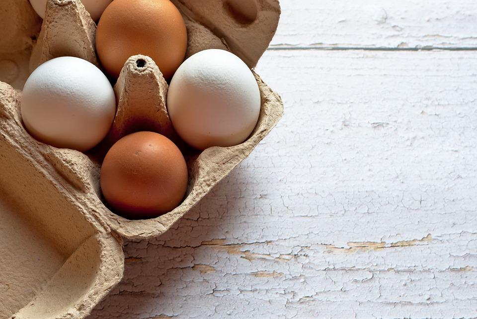 Easter, Egg, Hen's Egg, White, Brown, Food, Bio