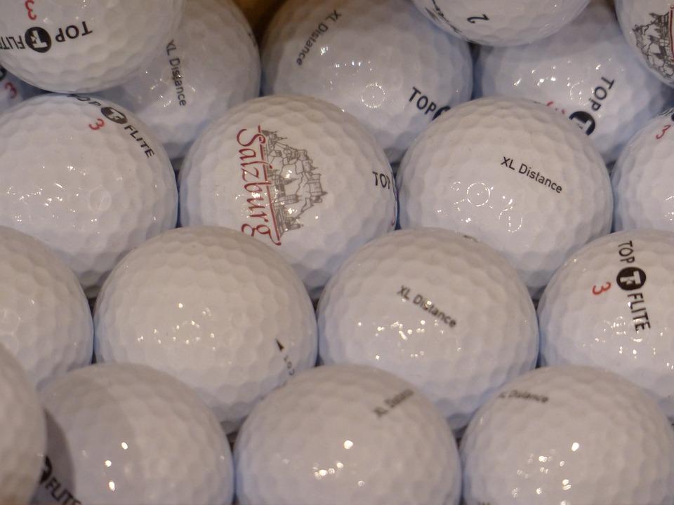 Golf, Golf Balls, Balls, White
