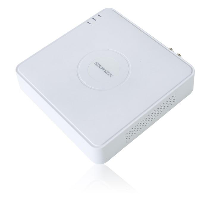 Hikvision Digital Video Recorder, Isolated, White, Book