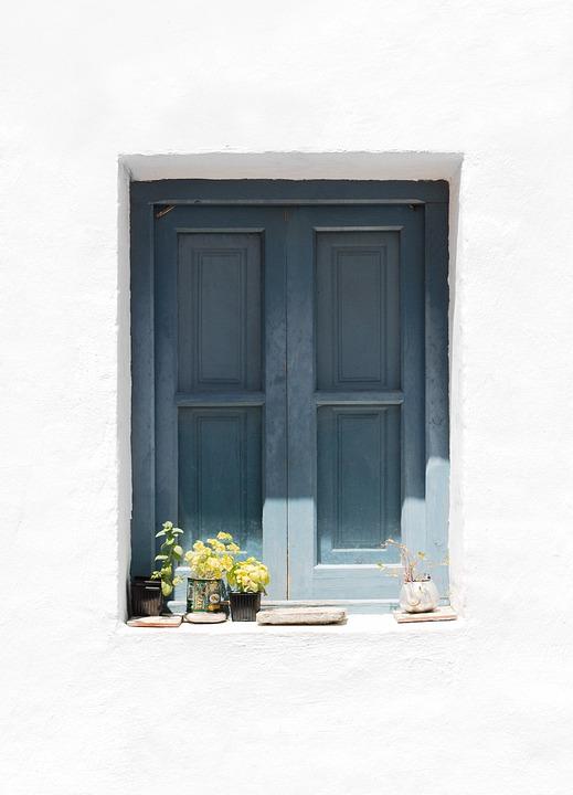 Window, Wall, Facade, Architecture, Idyllic, White