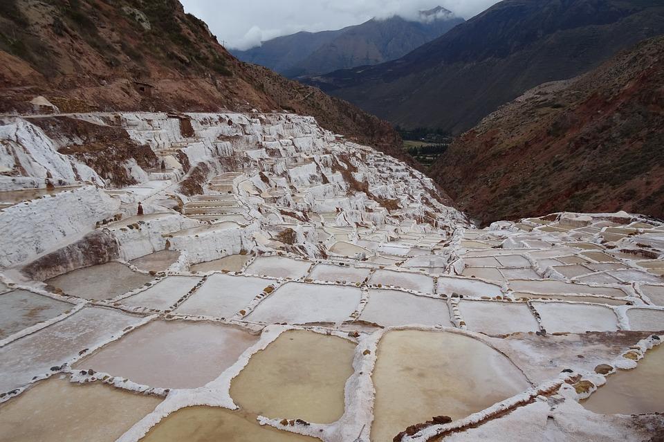 Salt, Life, Mine, Peru, White