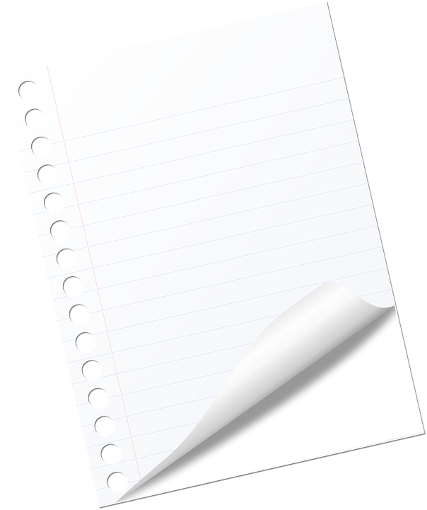 Note, Page, Blank, White, Business, Notebook, Office