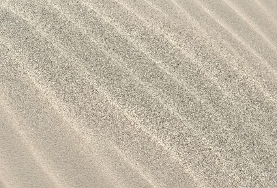 Sand Pattern Wave Texture Background White