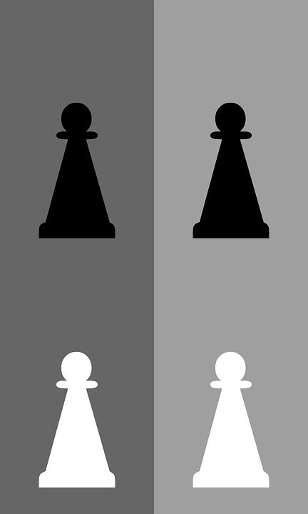 Chess, Pawn, Game, Meeple, White, Black, Tactics