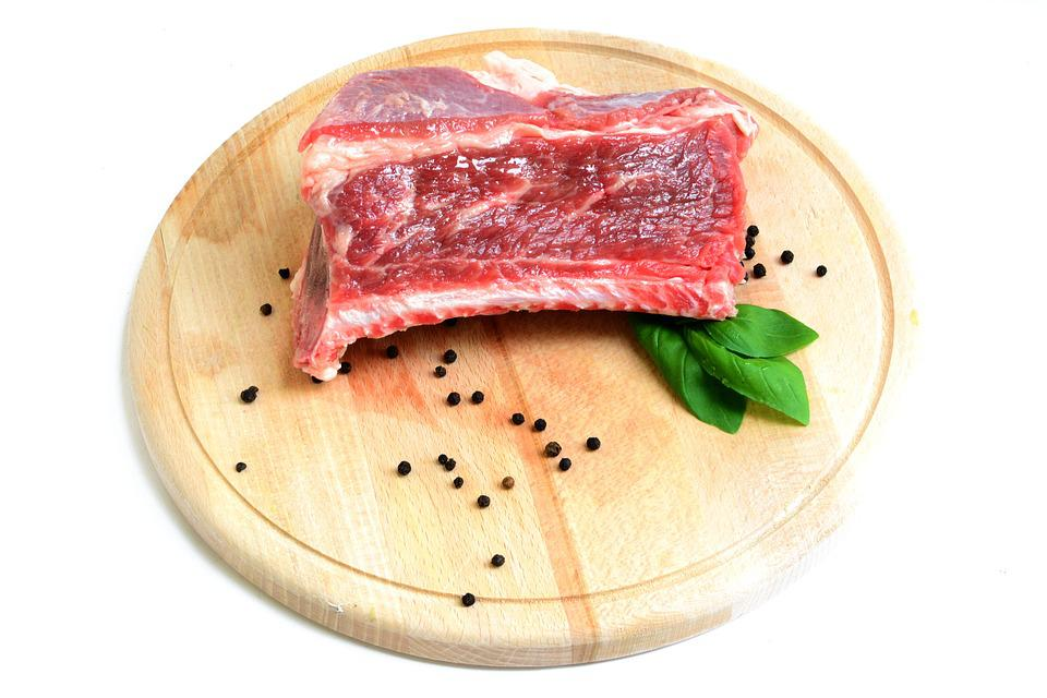 Rib, Beef, Meat, Raw, White, Dish, Meal, Neck, Kitchen