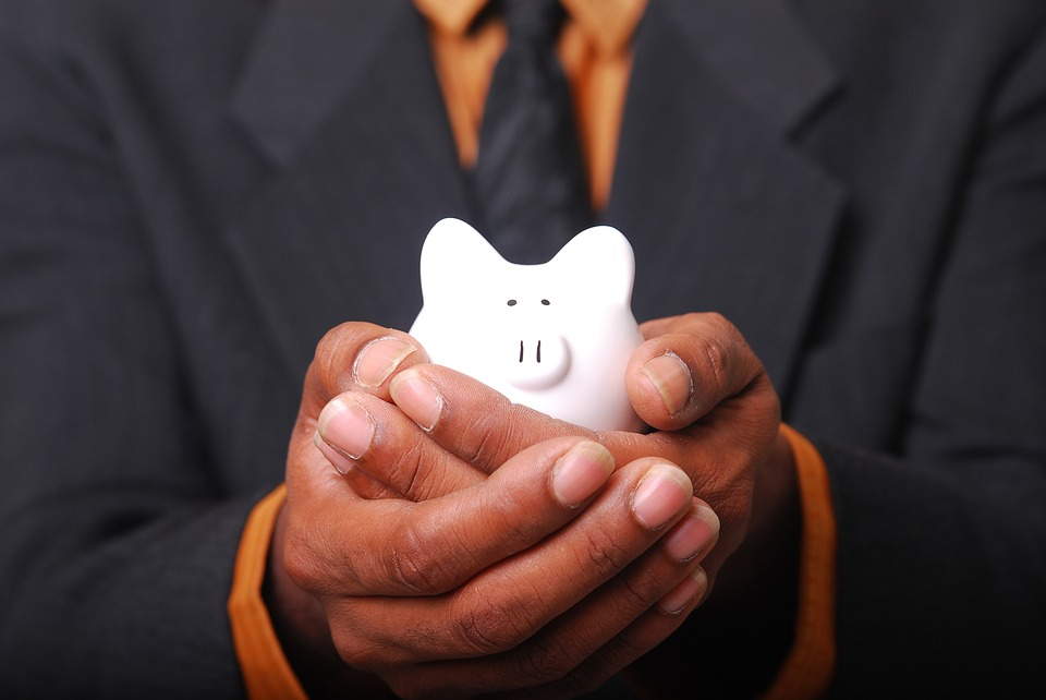 Money, Savings, Piggy, White, Saving Money