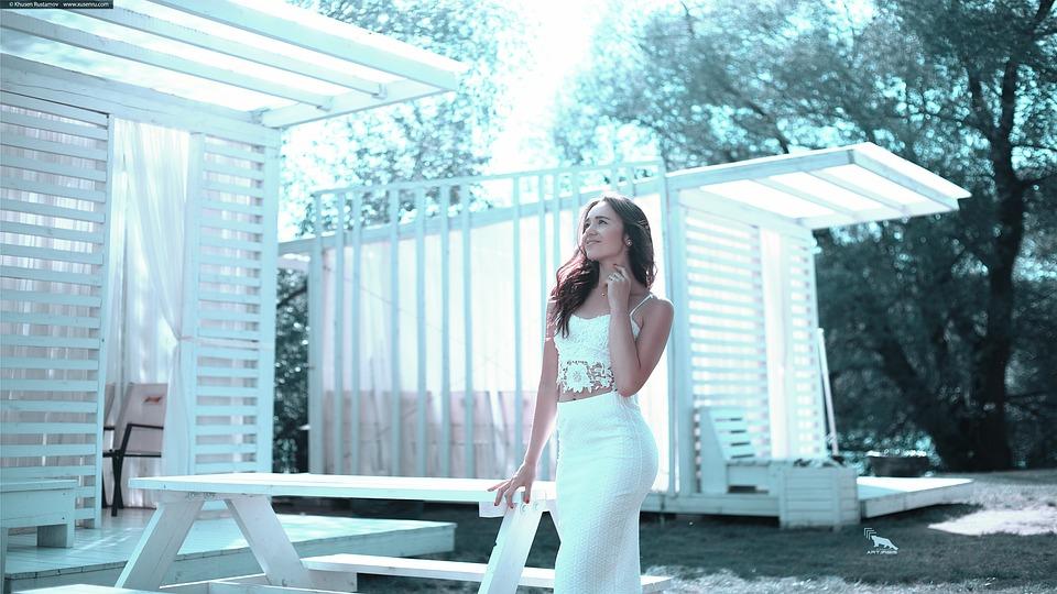 White Skirt, Summer 2017, Girl, Fashion, Woman, Model