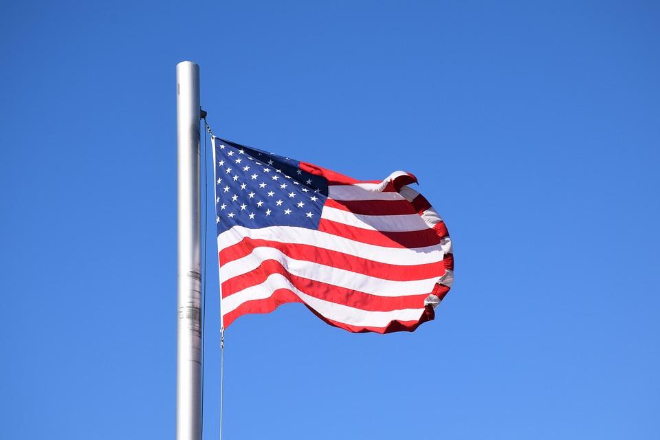 Usa, Flag, Us, Star, American, Blue, Red, White, Stars