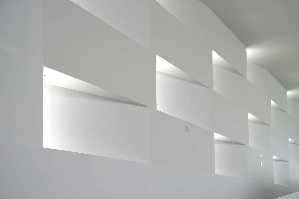 Architecture, Construction, Building, White Walllight